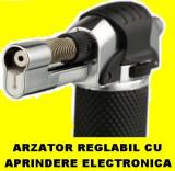 Arzator Bricheta PISTOL +tub GAZ pt FLAMBAT Lipit Cositorit Caramelizat