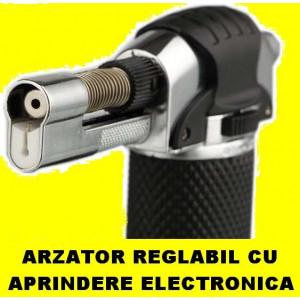 Arzator Bricheta PISTOL pe GAZ FLAMBAT Lipit Cositorit Caramelizat