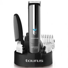 Aparat de barbierit Taurus Hipnos Power, Pentru barba si mustata 7 in 1, negru - Aparat de Ras Taurus, Numar dispozitive taiere: 4