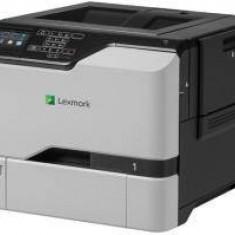 Imprimanta laser Lexmark CS720DE, COLORLASER, A4, USB 2.0, alb-gri - Imprimanta laser alb negru Lexmark, DPI: 1200