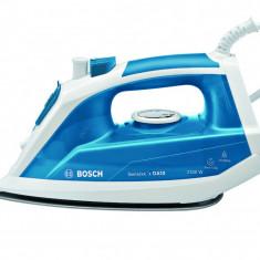 Fier de calcat Bosch TDA1023010, 2300 W, alb/ albastru, Palladium-Glissee