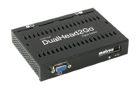 Placa video Matrox Adaptor grafic DualHead2Go, DualDigitalEdition, HD15 input, 2xDVI outputUSB foto mare
