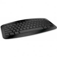 Tastatura Microsoft Arc J5D-00015 Wireless, USB, Negru, Fara fir