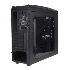 Carcasa In Win GT1 Middletower, neagra - Carcasa PC