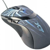 Mouse A4Tech XL-747H, Laser, Anti-vibrate Laser, 3600 dpi, Negru