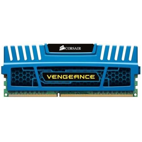 Memorie Corsair Blue Vengeance, 4 GB, DDR3, 1600MHz foto mare