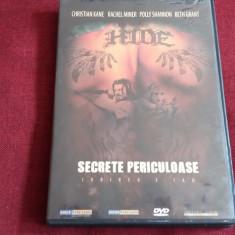 FILM DVD SECRETE PERICULOASE, Romana