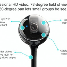 Camera web Logitech BCC950 Conference Cam, USB - Webcam