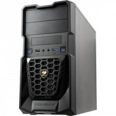 Carcasa Cougar Spike Black, Mini ATX, fara sursa, Neagra - Carcasa PC