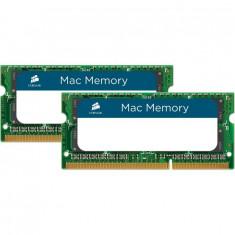 Corsair CMSA16GX3M2A1600C11 SODIMM pentru Mac, 2x8GB DDR3 1600MHz CL11 - Memorie RAM laptop