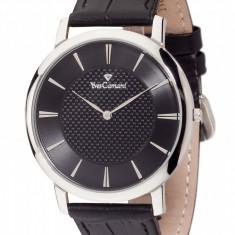 Ceas original Yves Camani Ciron Silver/Black - Ceas barbatesc