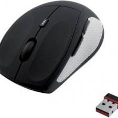 Mouse iBOX optic wireless JAY PRO, negru-gri