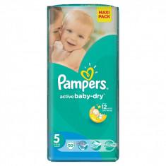 PAMPERS Scutece Active Baby 5 Junior Value Pack 50 buc - Scutece unica folosinta copii