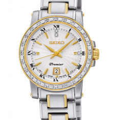 Ceas original Seiko Premier Diamant SXDG58P1 - Ceas dama