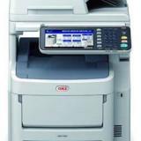 Multifunctionala OKI MC760dn, A4, laser color, USB, alb-gri