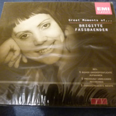 Brigitte Fassbaender - box - neu - Muzica Opera emi records, CD