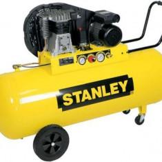 Stanley compresor de aer cu ulei B350/10/200 cu 2 cilindri, 10 Bar, 200 l - Compresor electric