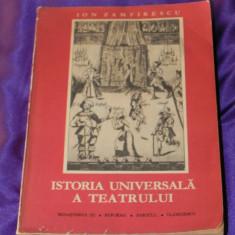 Istoria universala a teatrului vol 3 Renasterea, reforma - Ion Zamfirescu (f0581