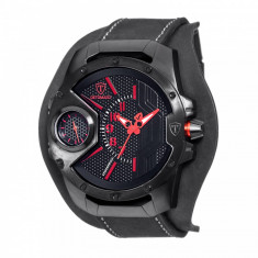 Ceas barbatesc Detomaso Steppenwolf Black/Red, Casual