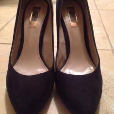 Pantofi dama Zara - Pantof dama Zara, Culoare: Negru, Marime: 39, Cu toc
