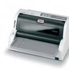 Imprimanta matriciala OKI MICROLINE 5100FB, 24-pin, USB 2.0, alb-gri
