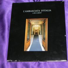 Ambasada Italiei la Bucuresti album (f0534 - Album Arta