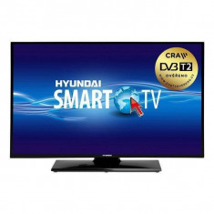 Televizor LED Hyundai HLN24T211SMART, 24 inch, 1366 x 768 px HD, Smart TV