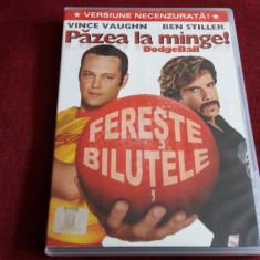 FILM DVD PAZEA LA MINGE - Film comedie, Romana