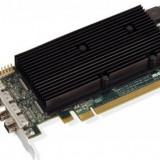 Placa video Matrox M9148, 1GB, 4xDVI, PCI-Express x16, low profile, retail - Placa video PC