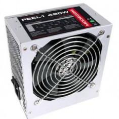 Sursa Modecom Feel 420, 420W, ventilator 120 mm, PFC Pasiv - Sursa PC
