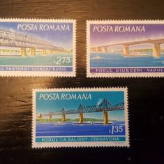 Timbre românești neștampilate - 1972