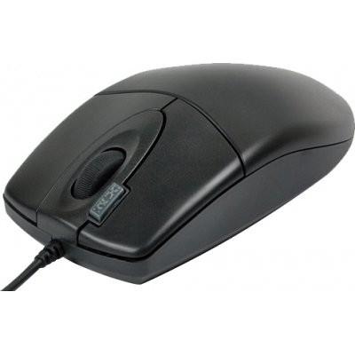 Mouse A4Tech OP-620D-U1, Optic, USB, negru foto mare