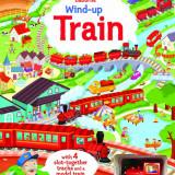 Wind-up Train - Usborne book - Carte educativa