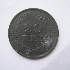 Romania (66) - 20 Lei 1944 - Moneda Romania, Zinc