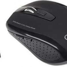 Mouse Quer KOM0570, optic, wireless, negru, Optica