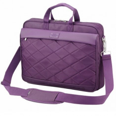 SUMDEX Passage PON-327, Geanta laptop, 15.6 inch, violet, Nailon, Mov