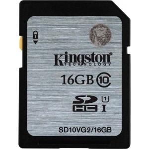 Card memorie Kingston SDHC 16GB, clasa 10 foto