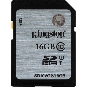 Card memorie Kingston SDHC 16GB, clasa 10 foto mare
