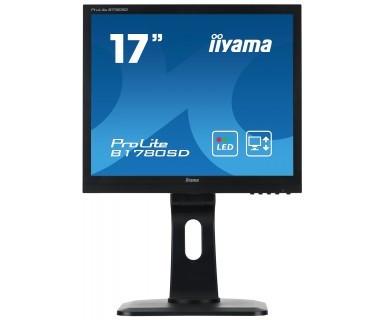 Monitor LED Iiyama Prolite B1780SD-B1, 17 inch, 1280 x 1024px, boxe foto mare