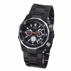 Ceas barbatesc Detomaso Salerno Black, Casual