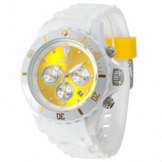 Ceas original Detomaso Colorato Chrono White/Yellow - Ceas barbatesc Detomaso, Sport