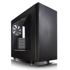 Carcasa Fractal Design Define S Window, Middle Tower, neagra, fara sursa - Carcasa PC