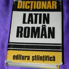 Dictionar latin roman editia a 3-a 1973 Gheorghe Gutu (f0546 - Carte Cultura generala