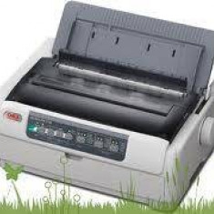 Imprimanta matriciala OKI MICROLINE 5721eco, 128 MB, 9 pini, USB 2.0, gri
