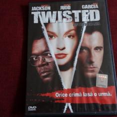 FILM DVD TWISTED - Film thriller, Romana