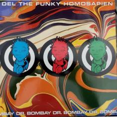 Del Tha Funkeé Homosapien - Dr. Bombay 1992 disc vinil Maxi Single Hip Hop - Muzica Hip Hop