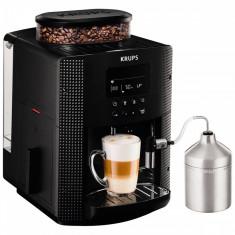Espressor automat Krups Espresseria Automatic EA8160, 1450W, 15 bar, 1.7 l, Negru - Cafetiera