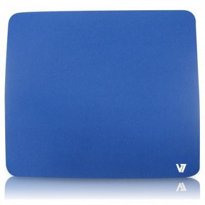 Mousepad V7 MP01BLU-2EP, albastru foto