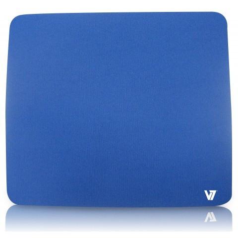 Mousepad V7 MP01BLU-2EP, albastru foto mare