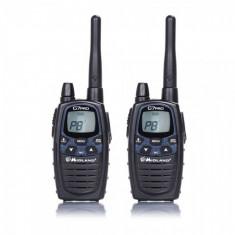 Statie radio Midland PMR/LPD portabila Midland G7 PRO model 2016, set cu 2bc